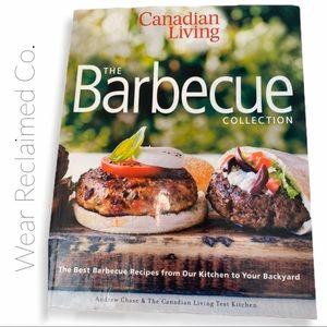 Large Canadian Living BBQ Cookbook - Soft Cover